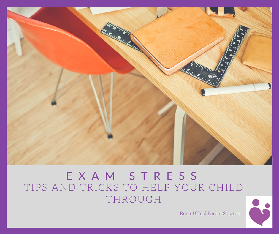 Exam Stress, Tips and tricks to help your child through - Bristol Child  Parent Support
