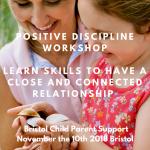 Positove Discipline strategies workshop