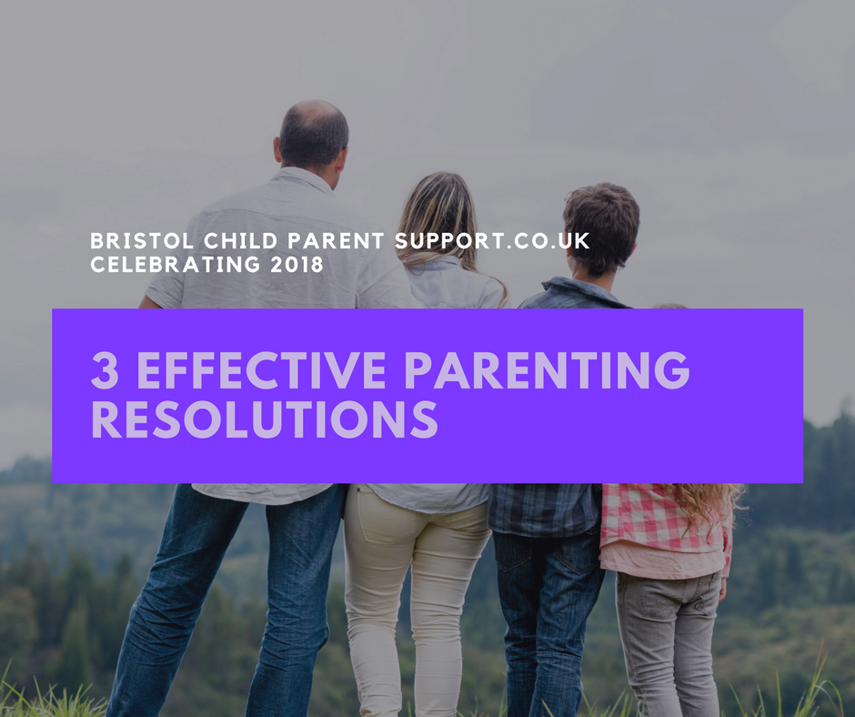 3 Effective Parenting Resolutions 2018