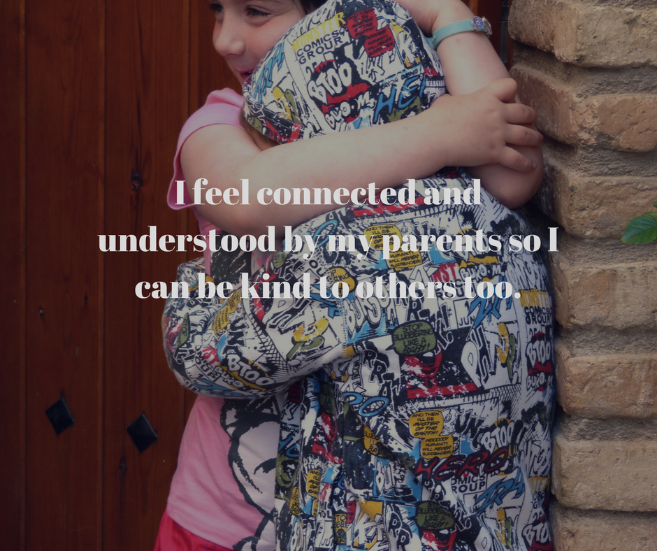 I can be kind and connected too, the power of emapthy