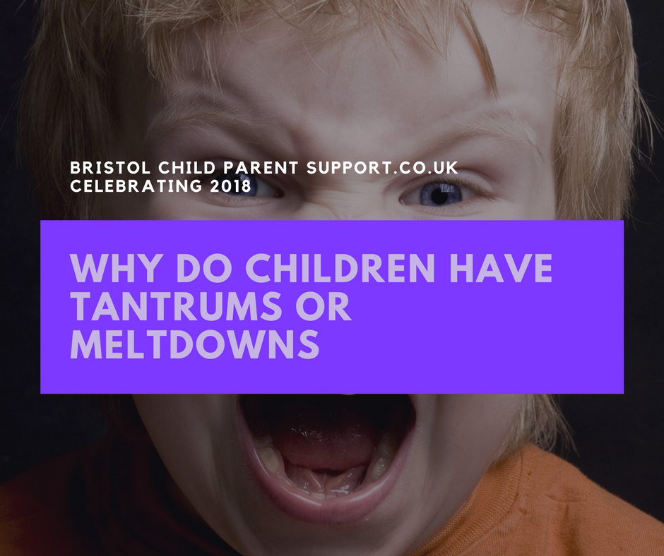 Why do children have Tantrums and Meltdowns