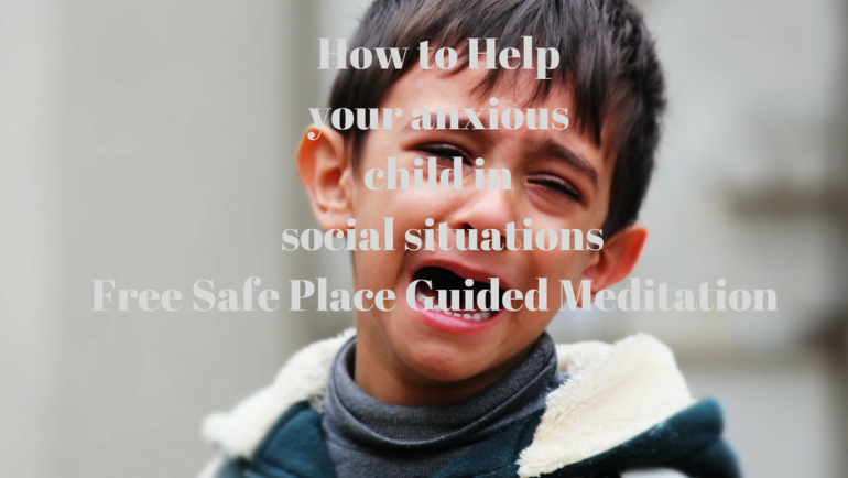 How to help your anxious child in social situations
