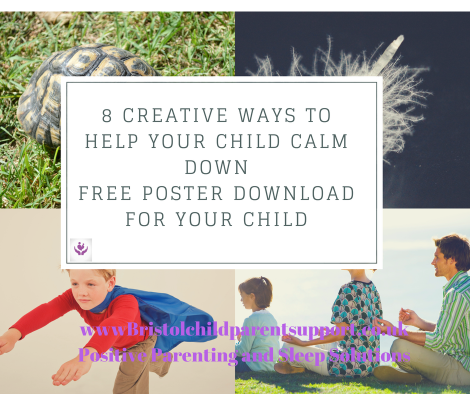 8 ways to help your child calm down