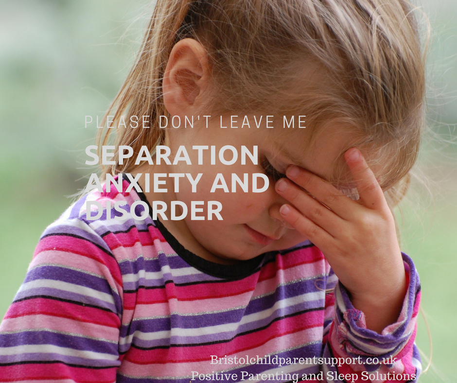 Separation Anxiety and Disorder