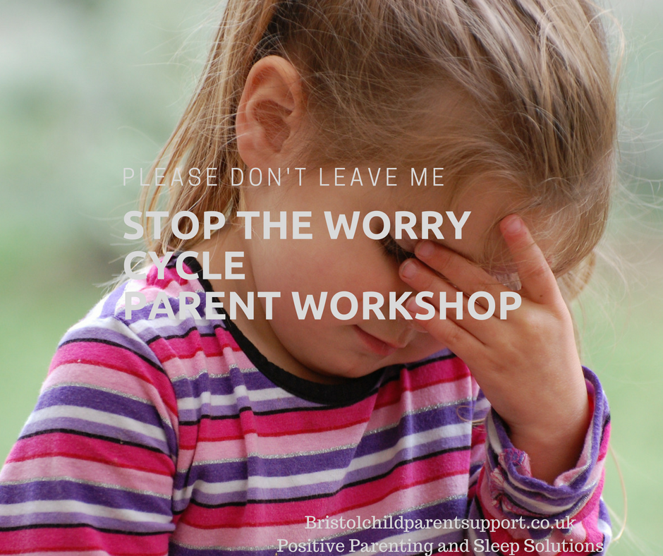 Stop the worry cycle parent workshop