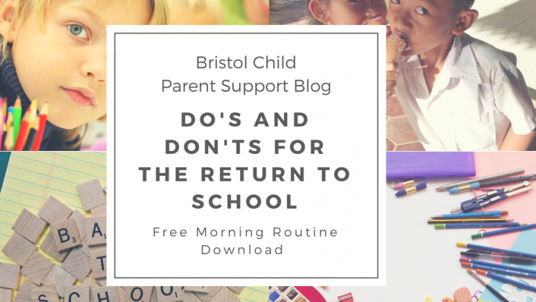 Do's and Don'ts for Returning to the School Term