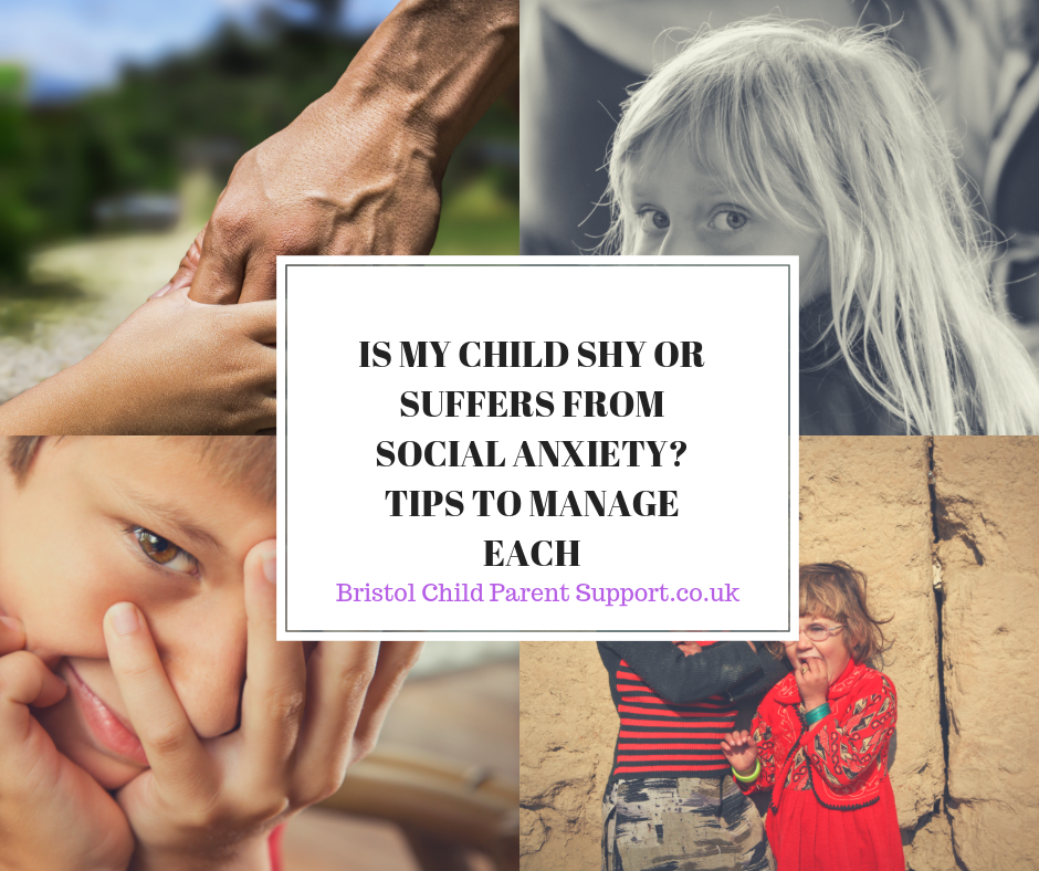 Is my child Shy or suffers from Social Anxiety?