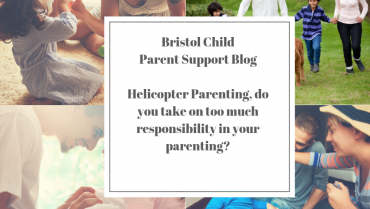 Helicopter Parenting, do you take on too much responsibility in your parenting?