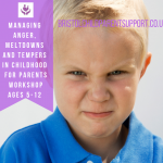 anger, tempers and meltdowns