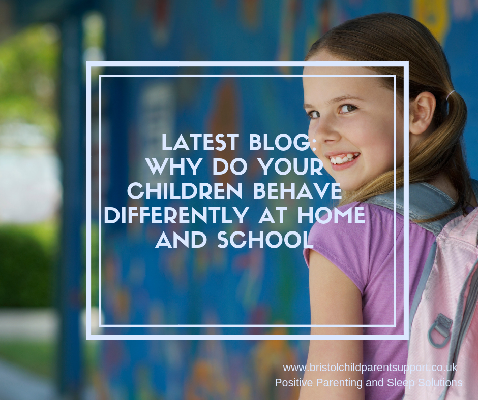 Why do children behave differently at home and School?