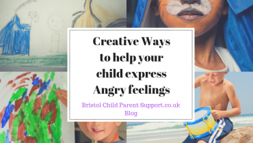 """Creative Ways to help your child express """"Angry"""" Feelings"""