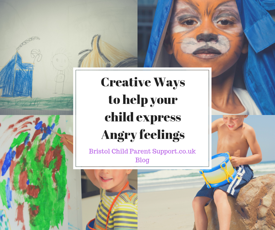 "Creative Ways to help your child express ""Angry"" Feelings"