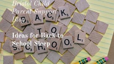 Back to School Sleep Ideas