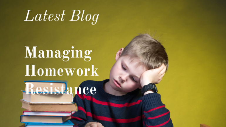 Managing Homework Resistance