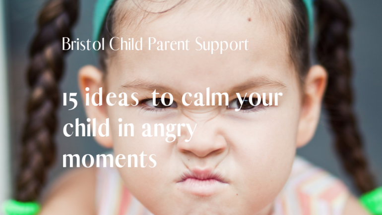 15 ideas to Calm those Angry Moments
