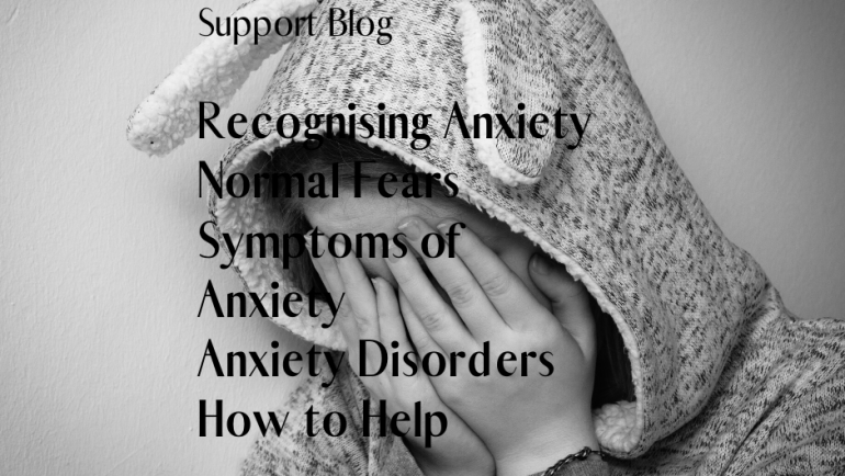 Recognising Anxiety in your child