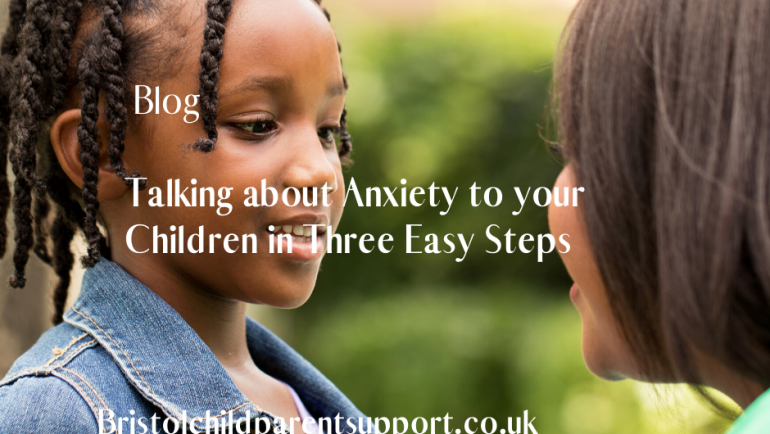 Talking to your Child about Anxiety