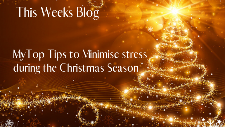 Tips to Minimise Stress during the Christmas Season