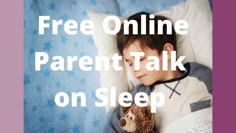 Free Online Sleep Talk for Difficult Times