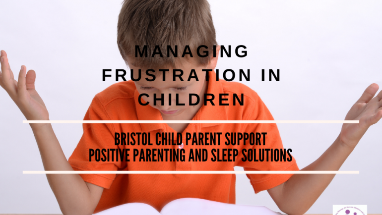 Managing Frustration in Children.