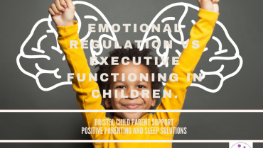Emotional Regulation Vs Executive Functioning in Children.