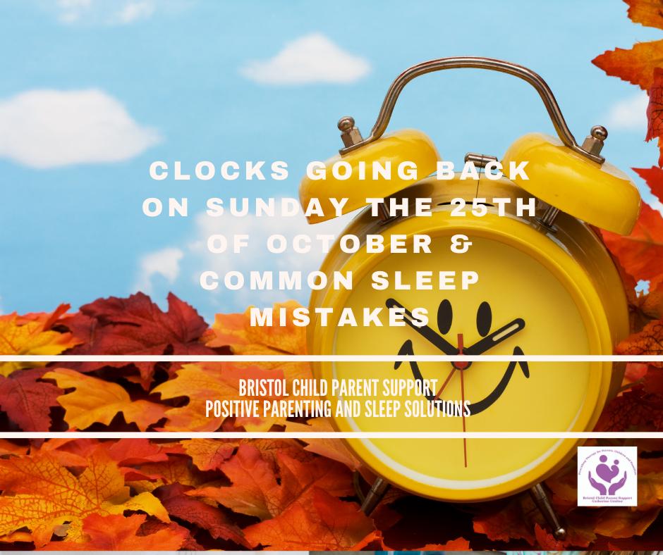 "Clocks ""fall back"" and 7 Common Sleep Mistakes."