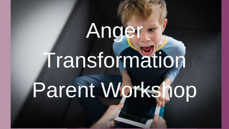 Anger Transformation Online Parent Workshop ( School Age -12).