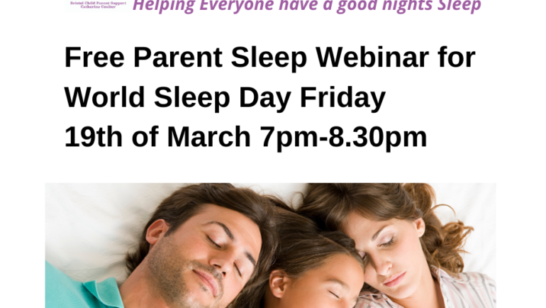 Free Online Sleep Webinar for World Sleep Day.