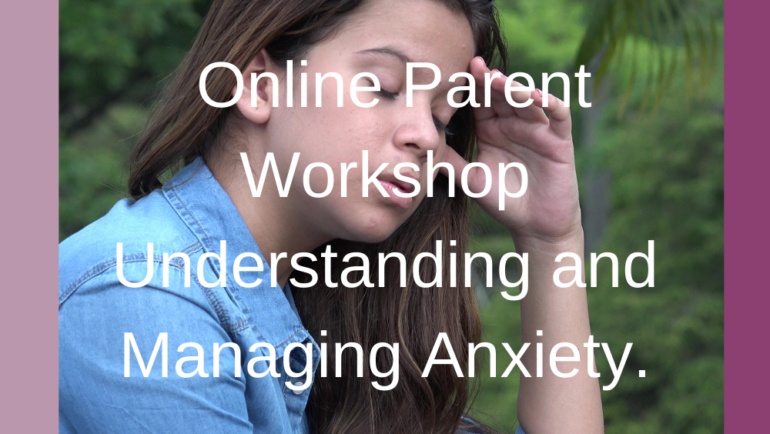 Understanding and Managing Anxiety in Tweens and Teenagers.