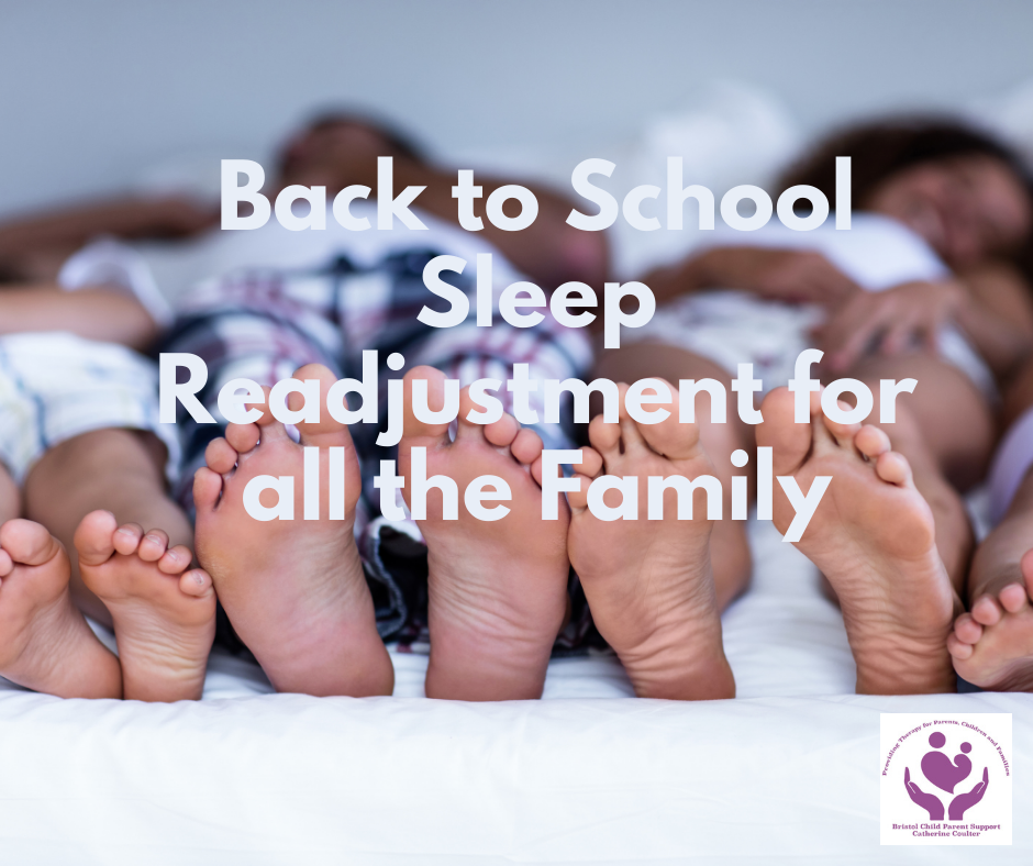 Back to School Sleep Readjustment