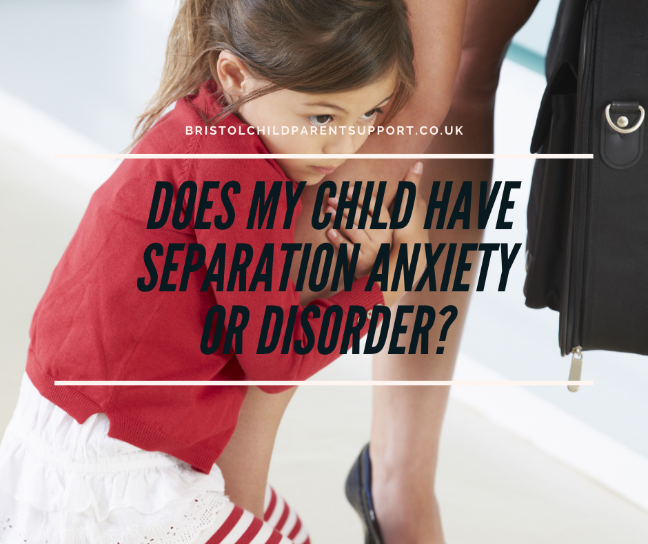 Does my child have Separation Anxiety?